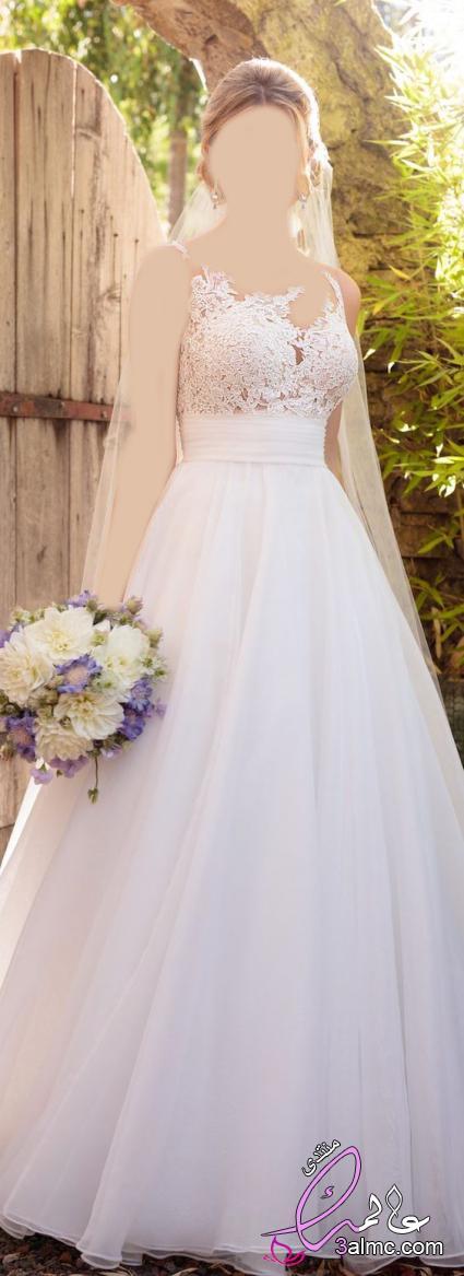 فساتين زفاف تركى 2018 , فساتين زفاف 2018 للمحجبات , فساتين اعراس فخمه 2018