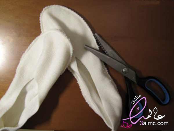 خياطة جزمة بيتى مريحه وجميلة وشكلها شيك,طريقة عمل حذاء للكبار بقماش الجوخ,كيف تصنع حذاء من القماش