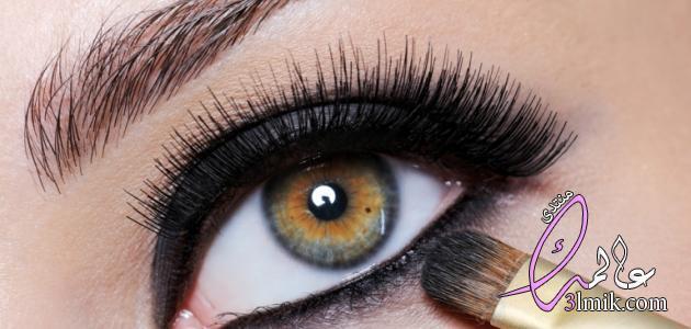 صور رسم العيون للمبتدئين،طريقه جديده لرسم العين،رسمات عين بالايلينر