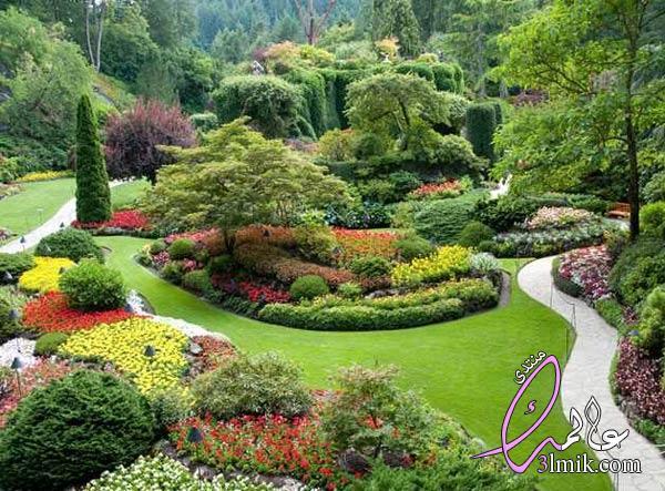 اجمل عشر حدائق في العالم 2018،اشهر حدائق فى الدنيا،اجمل حدائق الزهور في العالم بالصور