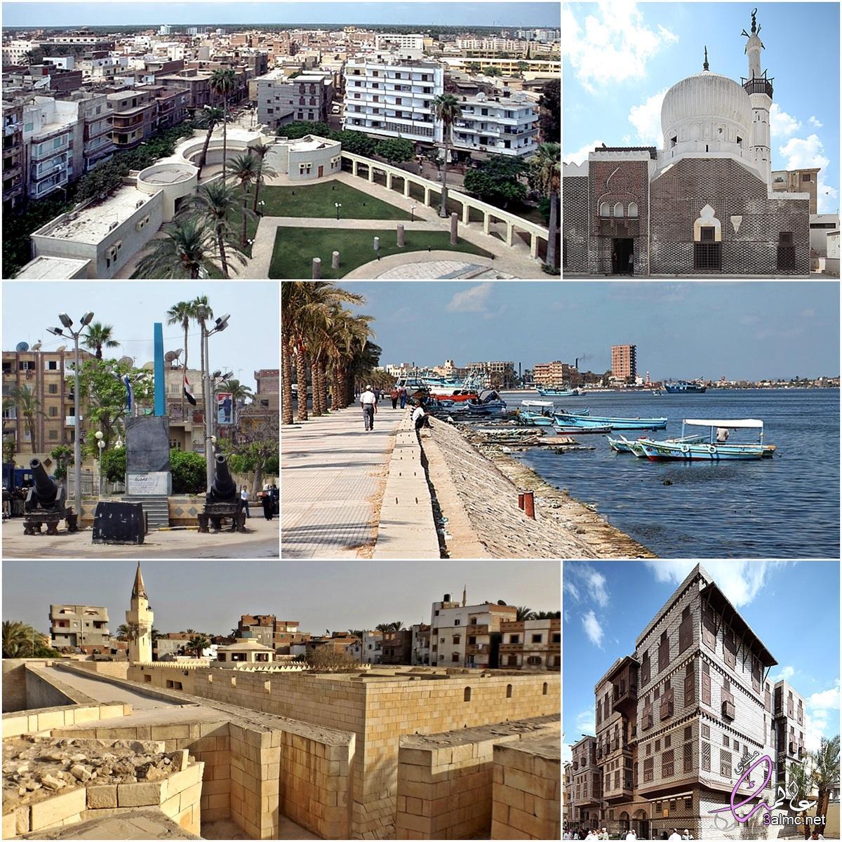 محافظة رشيد,مدينة مصرية تُلقب بـ بلد المليون نخلة,كورنيش رشيد,قلعة قايتباي,مدينة رشيد الجديدة