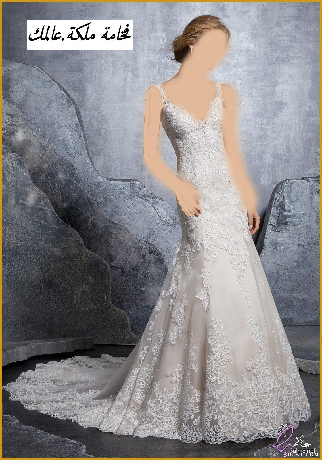فساتين زفاف فخمة 2018,فساتين اعراس ناعمة,فساتين فرح سمبل2018,فساتين زفاف جميلة,فساتين زفاف تركى,