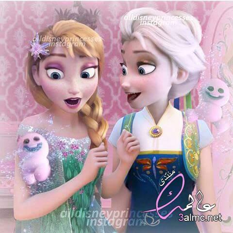 حصريا جميع صور كرتون ملكة الجليد . جديد صور ملكة الجليد انا و اختها 2019