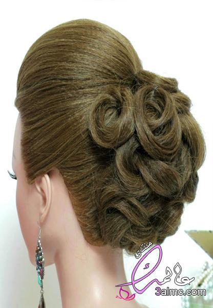 تسريحات شعر جميلة و سهلة 2018 , أجمل تسريحات الشعر,تسريحات شعر للمناسبات,تسريحات شعر للعروس2018