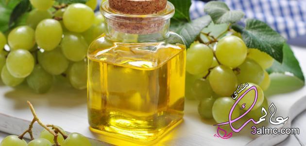 فوائد زيت بذور العنب لتفتيح البشرة,كيفية أستخدام زيت بذور العنب للعناية بالبشرة