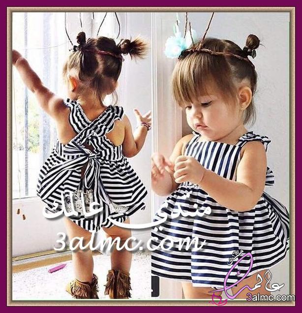 a137f44f7 ملابس اطفال بنات للمناسبات.ملابس اطفال بنات للعيد.موديلات فساتين اطفال.اشيك  فساتين