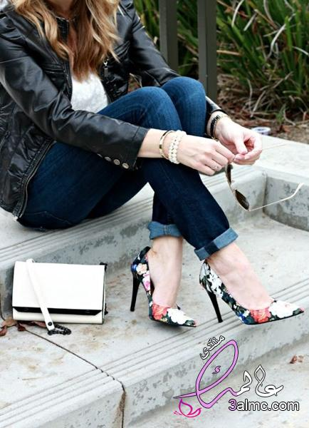 c6b13faf1 احذية للبنات المراهقات 2018.احذية كعب عالي للسهرات.احذية بنات على الموضة. احذية