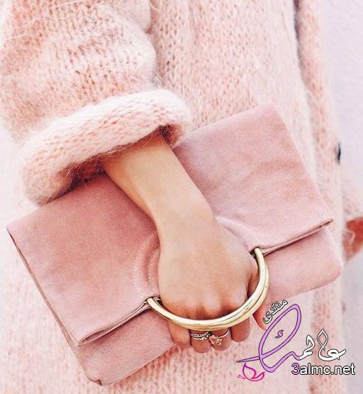 ملابس محجبات باللون الوردي,اللون الأنثوي الـ Nude Pink,جمال اللون زهري