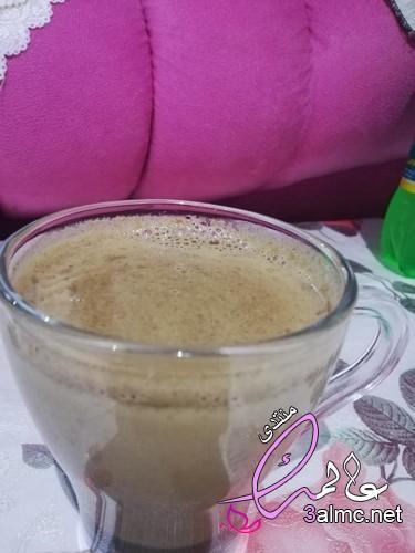 طريقة عمل القهوة بلبن , تحضير قهوة فرنساوي