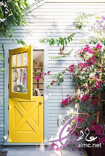 الأصفر في ديكورات المنزل,روعة اللون الأصفر في الديكورات الداخلية,استخدمي اللون الأصفر في ديكور منزلك