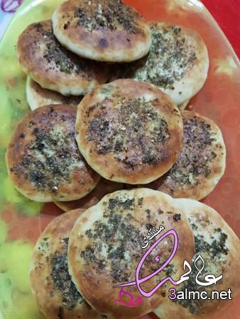 مكونات فطائر بالجبن والزعتر بعجينة تذوب في الفم،طريقة عمل فطائر بالجبن والزعتر