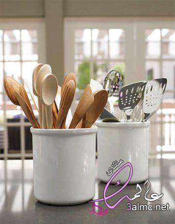 ترتيب ارفف المطبخ,تنظيم المطبخ بالصور,افكار لترتيب المطبخ من صنع يدي