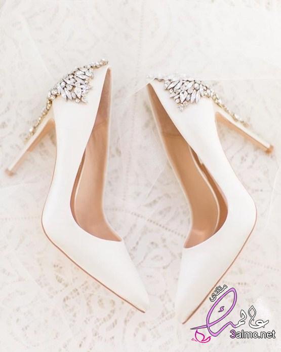 شوزات الافراح الشيك للعروسة الشيك أحذية العروسة موضة2019