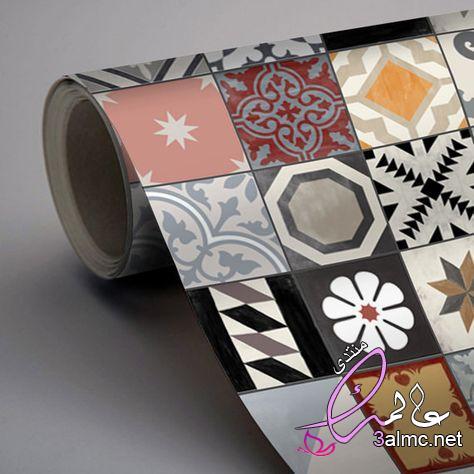 ملصقات بلاط: المنزل والمطبخ،جعل ملصقات البلاط تزيين سهل،كيفية تطبيق البلاط ثلاثي الأبعاد ملصقات