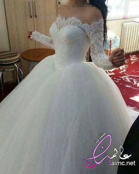 اجمل فساتين زفاف 2020 من أسبوع دبي للموضة,فستان زفاف 2019,احدث فساتين زفاف 2020