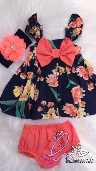 اجمل ملابس بيبي بناتى صيفي,ملابس بيبى بناتى حديثى الولادة,ملابس بيبي صيفي، لبس بيبي بنات