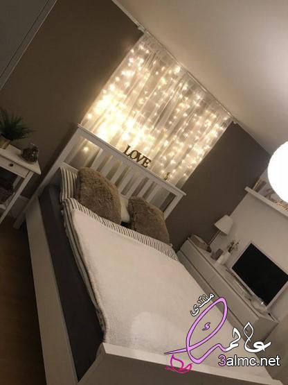 صور ديكورات غرف نوم رومنسيه للغاية 2019,بالصور افكار رائعة لتزيين غرف النوم