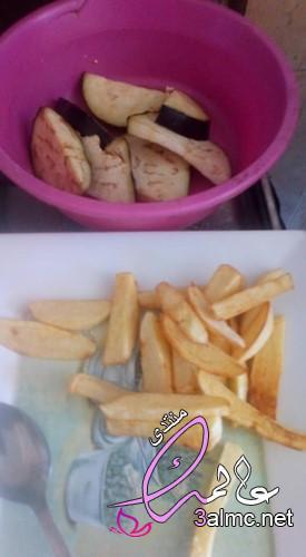 أحلى فطور شعبي مصرى طعمية فول باذنجان مقلي و مخلل بطاطس بوريه