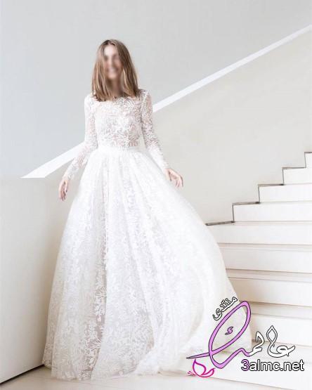 فساتين زفاف بسيطه للمحجبات, فساتين زفاف بسيطة وناعمة, فساتين زفاف سمبل,فساتين زفاف بسيطة وراقية 2020