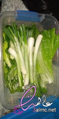 تخزين الخضروات الورقيه طازجه لمدة شهرين،كيفية حفظ الخضروات الورقية،طريقة تفريز الخضروات الورقيه
