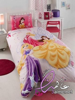 اجمل مفارش سرير أطفال,ملايات سرير اطفال,مفارش سرير الأطفال بالصور,طقم مفرش سرير اطفال مصرى