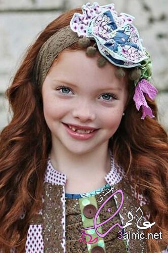 توك اطفال للافراح,اشكال تربونات اطفال,احدث اشكال ربطات شعر للأطفال