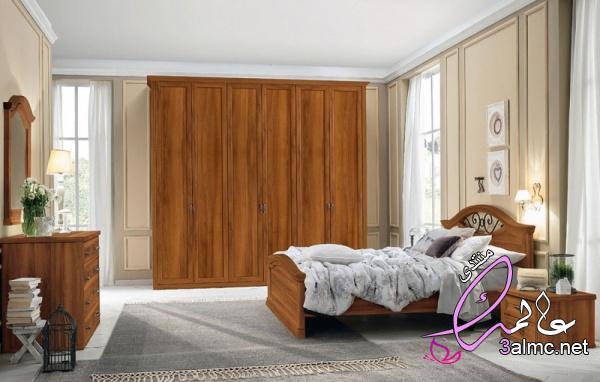 أجمل تصاميم غرف النوم الكلاسيك بالصور 2020
