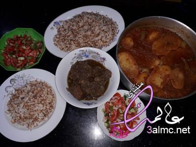 صينية بطاطس باللحم على الطريقه المصريه بالصور
