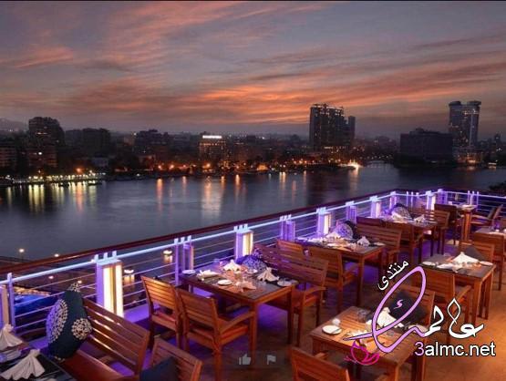 كافيه برج القاهرة،مطاعم بالزمالك على النيل،صور من كافيه frais 3almik.com_08_20_159