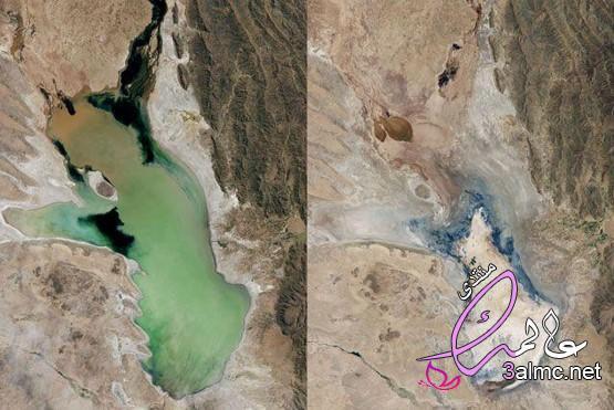 لماذا تنكمش بحيرات العالم , بحيرات بدأت في الجفاف