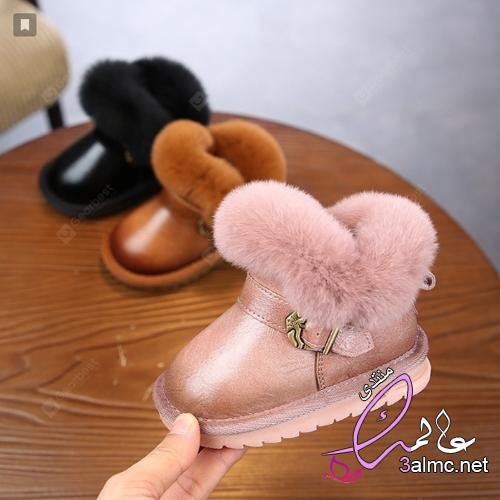 هاف بوت اطفال بنات , بوت بناتي 2019 , احذية بوت بناتى
