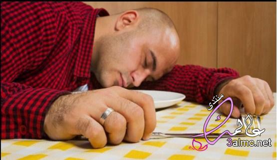 اسباب النوم بعد الاكل  7 نصائح للتخلص من النعاس