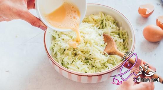 مكونات فطائر نباتية سريعة وخفيفة,كيف لطهي الفطائر الاسكواش,طريقة عمل كوسة الفطائر