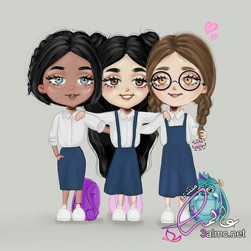 اروع صور بنات الانمي جديده,صور انمي ثلاثية الاصدقاء,اروع بنات انمى من تجميعى
