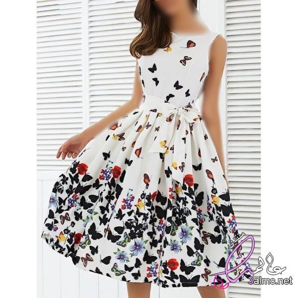 فساتين صيفيه منتهى الرقه والجمال,احدث تشكيلة من الفساتين الصيفي للسيدات,فساتين صيفي موضة 2020