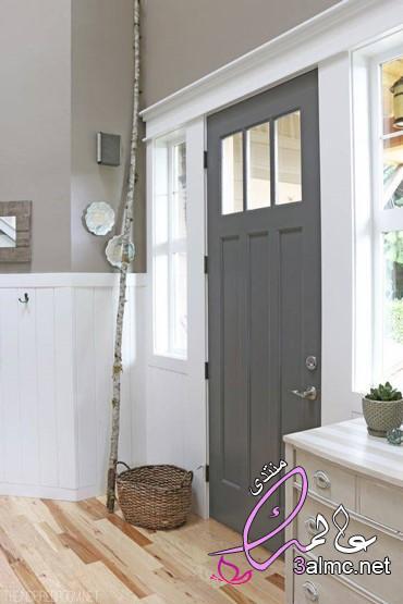 افكار لأبواب خشبية غير تقليدية,الوان ابواب الغرف,صور الوان ابواب خشب خارجية وداخلية