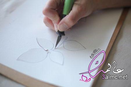 طرق الرسم على القماش في المنزل بالخطوات