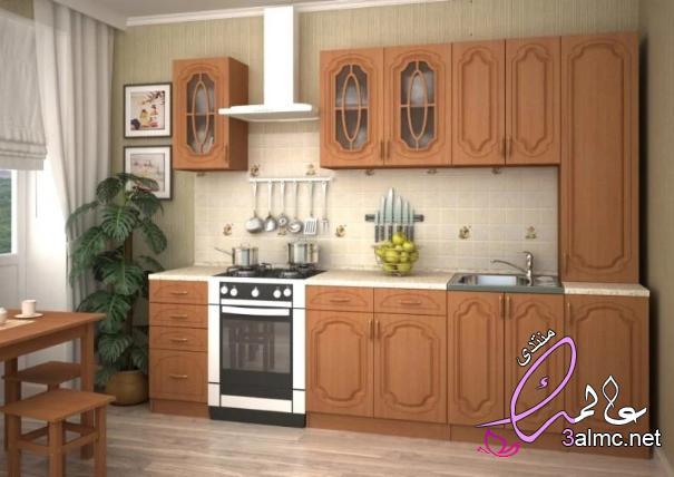 مطابخ صغيرة 2020,اشكال مطابخ صغيرة مستطيلة,تصاميم مطابخ صغيرة وبسيطة
