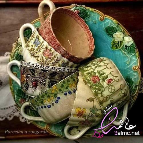 طقم شوربة مودرن,اشكال مجات جديدة,مشترياتى من مجات الشوربه ومجات الشاى والقهوة