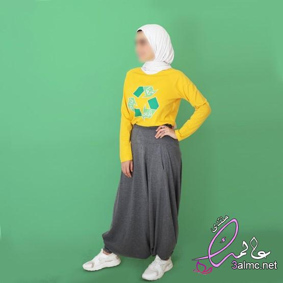 بنطلون تنورة,بنطلون على شكل فستان,سراويل التنورة,أحدث سراويل التنورة2020