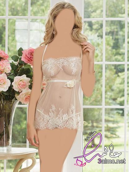ماذا تلبس العروس بعد فستان الزفاف , أحدث أشكال ملابس نوم ليلة الزفاف لعروس2020
