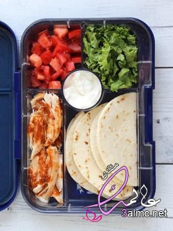 بالصور منيو اللانش بوكس,افكار للانش بوكس,اشكال لانش باج للاطفال,طريقة عمل lunch box