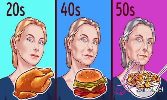 كيفية اختيار الطعام المناسب لكل عمر.. من المراهقة وحتى الـ70