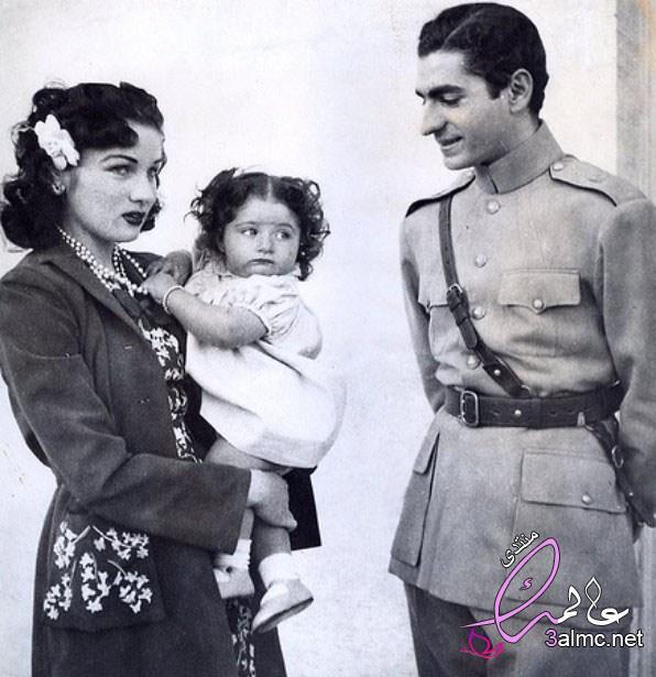 أميرة مصر وإيران فوزية التي خسرت لقبها مرتين