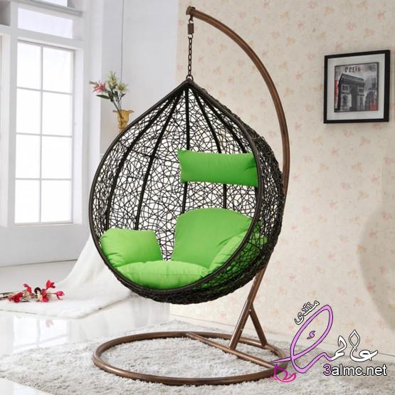 كرسي أرجوحة لغرفة نوم،كرسي أرجوحة ايكيا ،كرسي مرجيحه ايكيا ،كرسي ارجوحه معلق