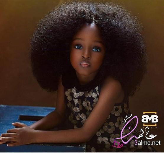 شاهد طفلة نيجيرية تأسر القلوب بجمالها الاستثنائي,سمراء نيجيريا,نيجيرية اجمل طفلة في العالم