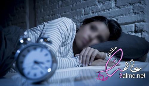 سبب القلق من النوم في نفس التوقيت, كل يوم اصحى نفس الوقت,سبب الاستيقاظ من النوم في وقت محدد