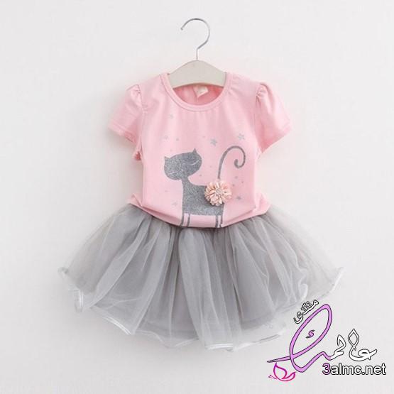 اروع ملابس البنات الصغار،ملابس اطفال بنات للعيد 2020،ملابس أطفال شيك ، أجمل ملابس البنوتات الصغيرين 3almik.com_23_20_159