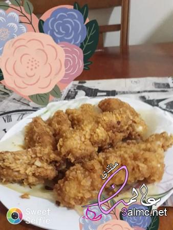 طريقة عمل دجاج ستربس وسر خلطة كرسبي الدجاج بخطوات بسيطة