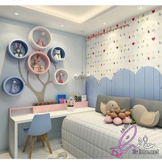 غرف نوم اطفال مودرن تصاميم منوعه , تصميمات متنوعه غرف النوم , تصميم ديكورات غرف نوم اطفال 2020
